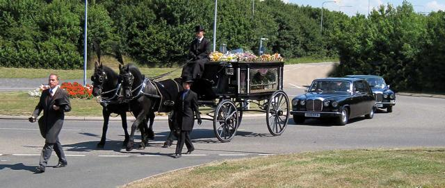 Horsedrawn Hearse